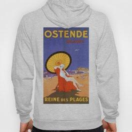 Ostend Queen of beaches jazz age Hoody
