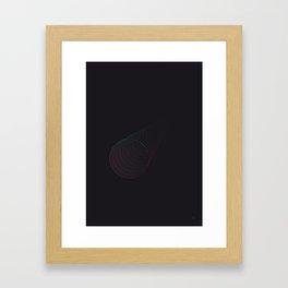minimal tube Framed Art Print