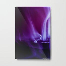 Bright incense smoke Metal Print