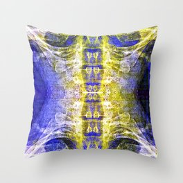 Shivers up your spine. Throw Pillow