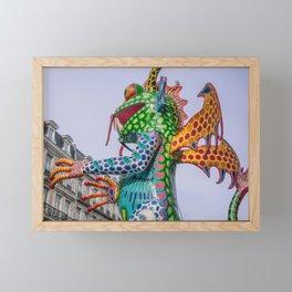 Monster frog Framed Mini Art Print