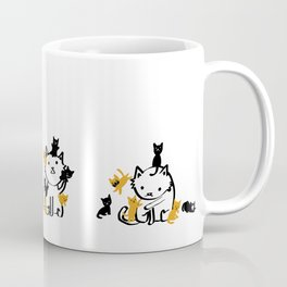 How Calicos Give Birth Coffee Mug