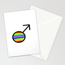 symbol of man 2 Stationery Cards