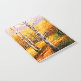 Birch trees Notebook