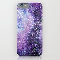 Space. Watercolor Slim Case iPhone 6