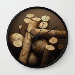 Los Pilares Wall Clock