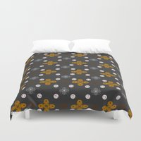 lace Duvet Covers featuring Lace by Wolvie