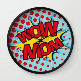 WOM MOM - reversible Wall Clock