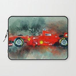 F1 Sports Car Laptop Sleeve