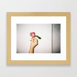 6:47 PM Framed Art Print