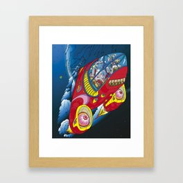 Fluke and Duke Framed Art Print