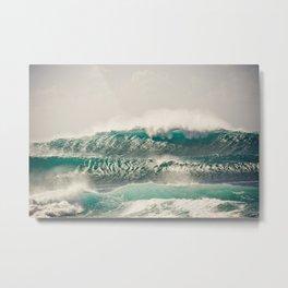 Shimmering Waves  Metal Print
