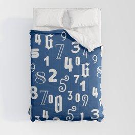 Numbers Comforters