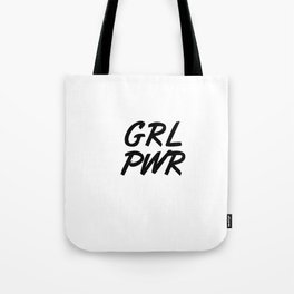 GRL PWR Tote Bag