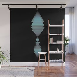 TRIANGLES 3D TOTEM Wall Mural