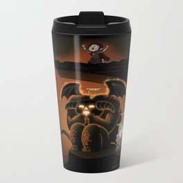 Wizardly Shenanigans Metal Travel Mug