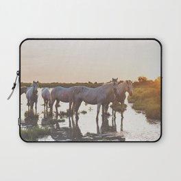 Camargue Horses VI Laptop Sleeve