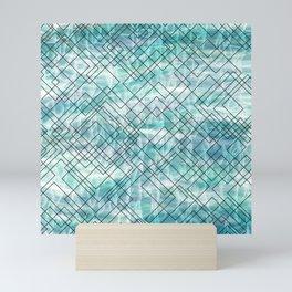 Square Waves Mini Art Print