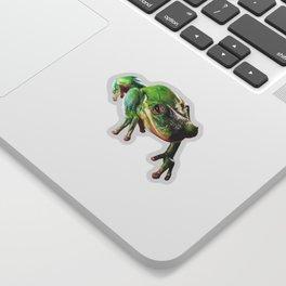 Frog Portrait Sticker