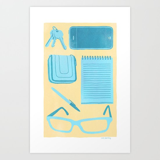 Friendly Reminder Art Print