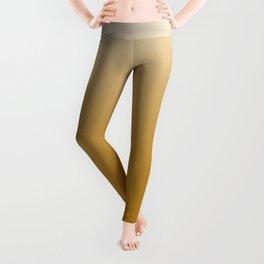 Burnt Mustard Yellow Ombré Leggings