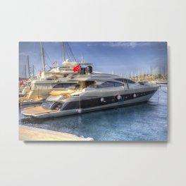 Pershing 90 Yacht Metal Print