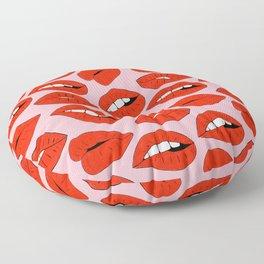 Lips Floor Pillow