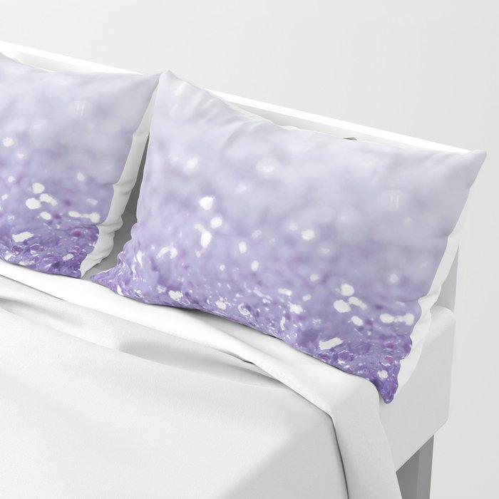 MERMAIDIANS PURPLE GLITTER Pillow Sham