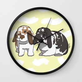 Sammy and Moose Wall Clock