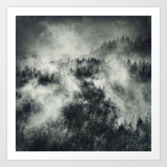 Recently // Dark Boogie Edit Art Print