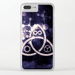Raines Empire - Coalition Symbol Clear iPhone Case