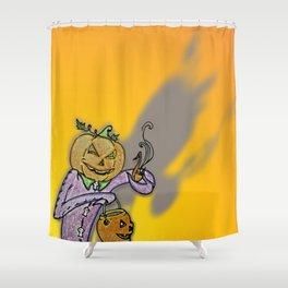 Razorblades and Chocolate Shower Curtain