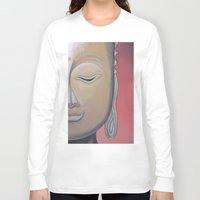 gem Long Sleeve T-shirts featuring Zen Gem by McNallieGalleries