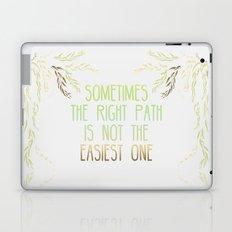 Grandmother Willow's Words Laptop & iPad Skin