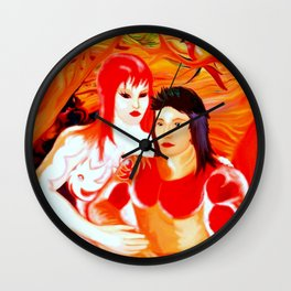 Brother & Sister Wall Clock