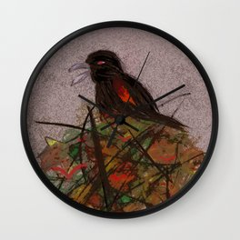Red-winged Wall Clock