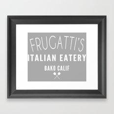 FRUGATTI'S CALIF 2 Framed Art Print