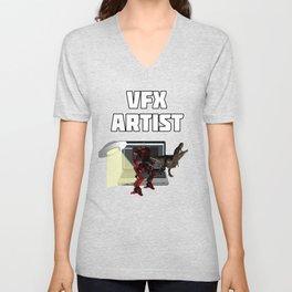 VFX Artst Unisex V-Neck