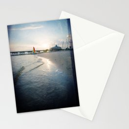 Ocean Springs Sunset Stationery Cards