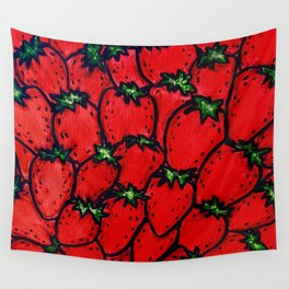 Strawberry jamboree Wall Tapestry