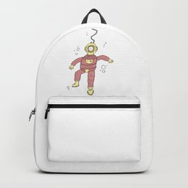 Diving in the Deep End Backpack