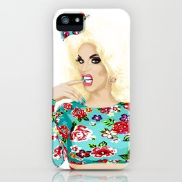 Katya Zamo, Jet Set Eleganza, RuPaul's Drag Race Queen iPhone Case
