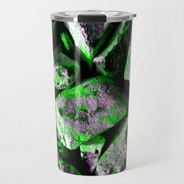 Radioactive Rocks-Green Travel Mug