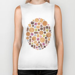 Sweets and Candy. Biker Tank
