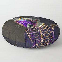 Cool Animal Art - Cat Floor Pillow
