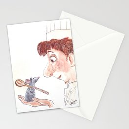 Ratatouille Stationery Cards