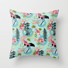 i put a spell on you II Throw Pillow