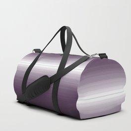 Modern Bold Purple Ombre Design Duffle Bag