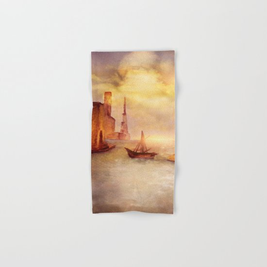 Sun City Hand & Bath Towel
