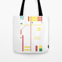 Intersection with Objects Tote Bag